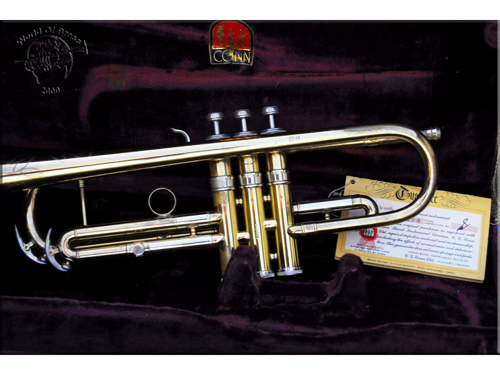 Tromba C G  Conn 22B Connquest 1955 trumpet - World Of Brass