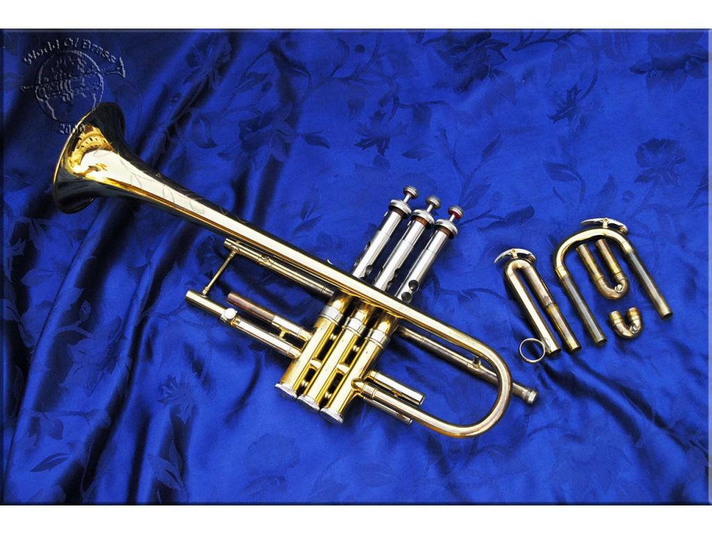 Tromba C G  Conn 22B Connquest 1955 trumpet - World Of Brass